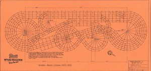 Cyclone at Crystal Beach - Erection Diagram