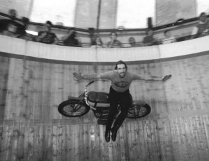 Wall of Death - Ned Kelly - Indian 101 'Scout'