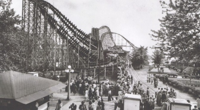 Media Image 013 - A Legend of Terror - Cyclone Coaster by Harry G. Traver, Crystal Beach, Ontario, Canada 1927-1946 (RP)