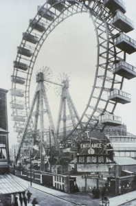Giant Pleasure Wheel - Blackpool, Lancs. UK