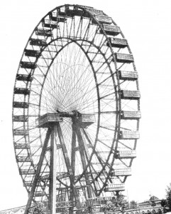Giant Pleasure Wheel - Earls Court, London