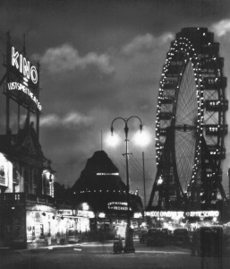 Giant Wheel by Walter Bassett at Prater Parc, Vienna Austria in 1935