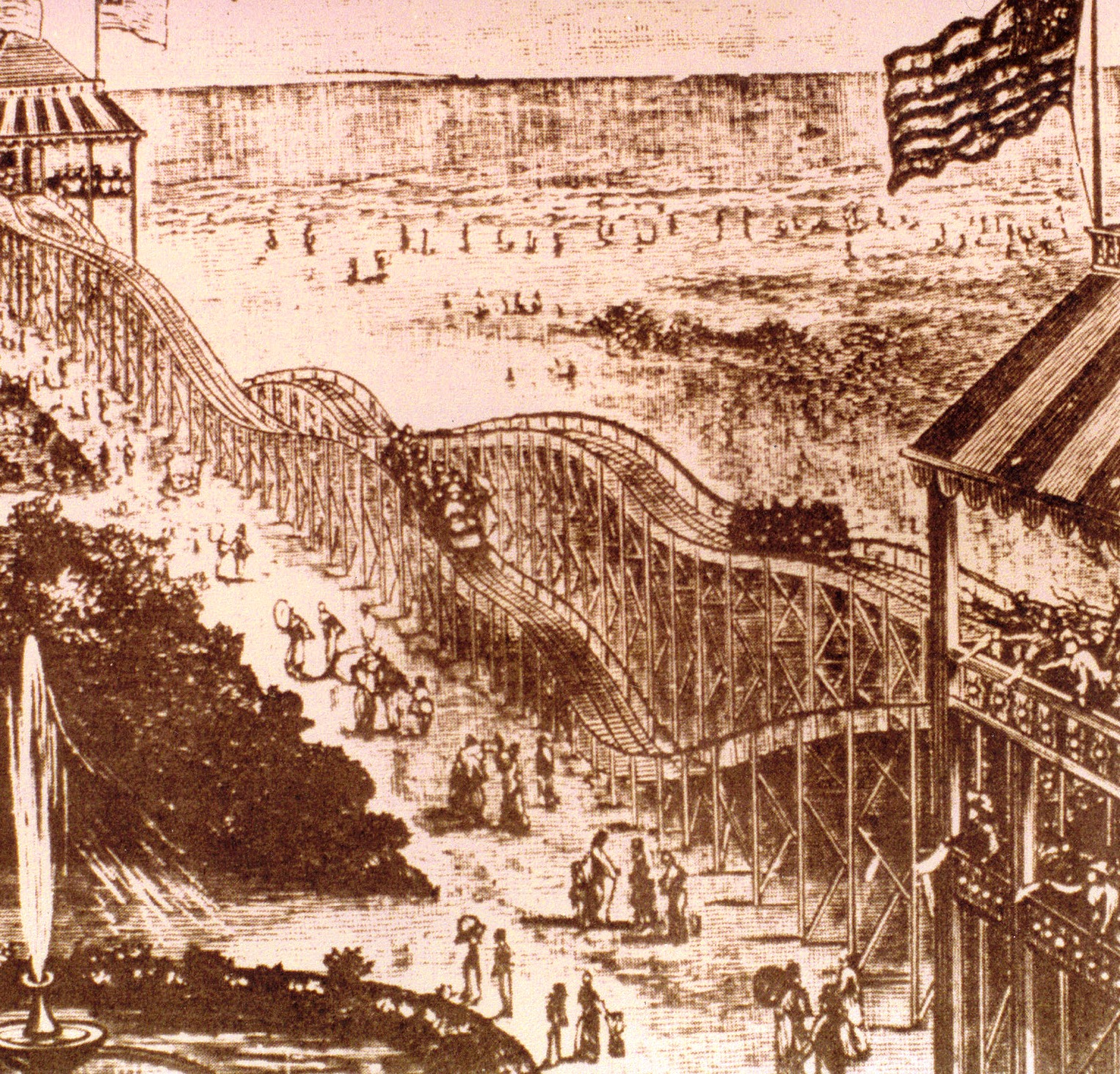 lamarcus adna thompson A popular amusement park ride, developed by lamarcus adna thompson jan 20, 1885 most rollers coasters consist of several cars hooked together and some have just one car on the track | see more ideas about roller coasters, amusement park rides and amusement parks.