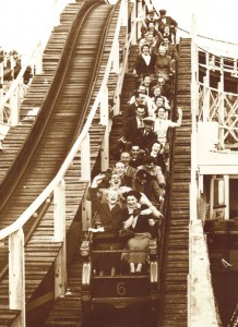 Media Image 045 - On the Scenic Railway, Margate, Kent 1951 (RP)
