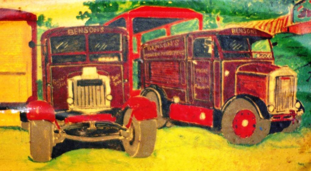 Benson's Scammell Tractors